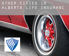 Other cities in Alberta  life insurance