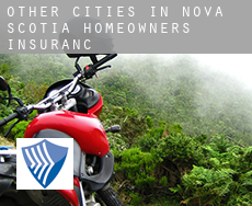 Other cities in Nova Scotia  homeowners insurance