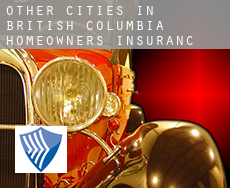 Other cities in British Columbia  homeowners insurance